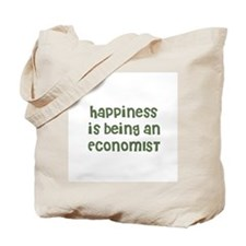 Happiness is being an ECONOMI Tote Bag