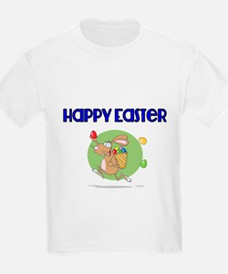 Happy Easter with Easter Bunny T-Shirt