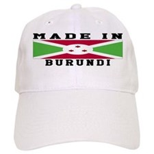 Burundi Made In Baseball Cap