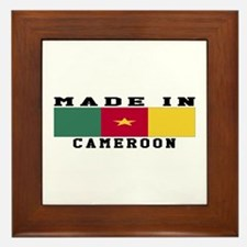 Cameroon Made In Framed Tile