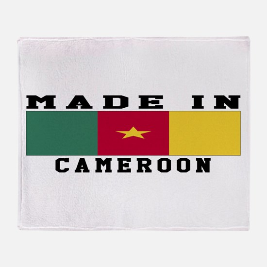 Cameroon Made In Throw Blanket