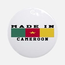 Cameroon Made In Ornament (Round)