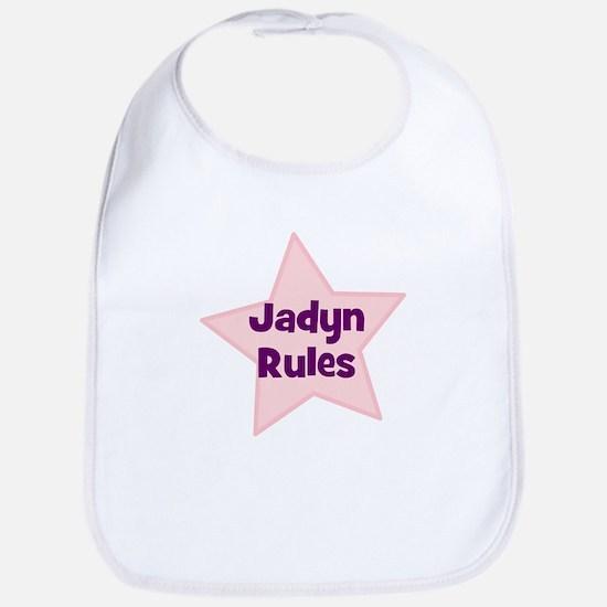 Jadyn Rules Bib