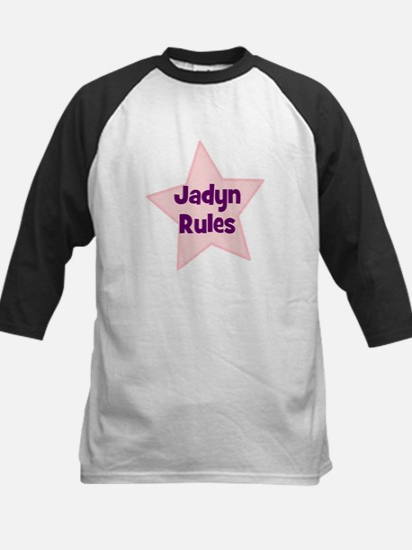 Jadyn Rules Kids Baseball Jersey