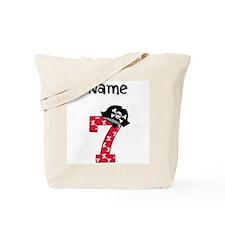 Pirate Seventh Birthday Tote Bag