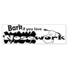 Bark Bumper Sticker