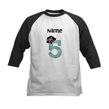 Pirate Fifth Birthday Baseball Jersey
