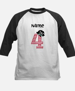 Pirate Fourth Birthday Baseball Jersey