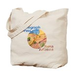 Telegraph Pass Painting Tote Bag