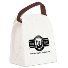 Big Road Sign Canvas Lunch Bag
