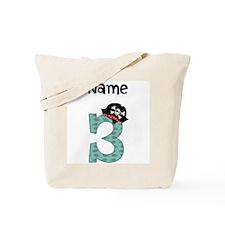 Pirate Third Birthday Tote Bag
