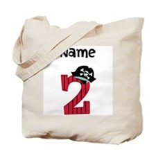 Pirate Second Birthday Tote Bag