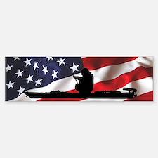 American Kayak Angler - Bumper Bumper Sticker