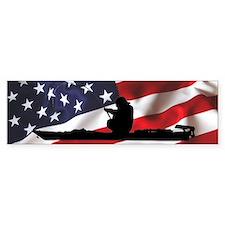 American Kayak Angler - Bumper Sticker