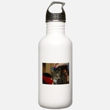 Christmas Cat Water Bottle