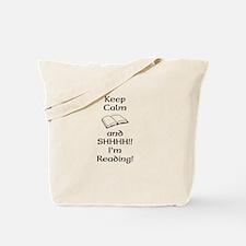 Shhh Im Reading Tote Bag