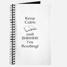 Shhh Im Reading Journal