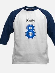 Personalized 8 Kids Shirt