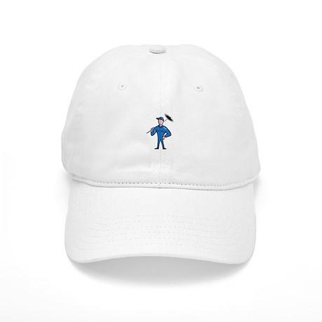 Chimney Sweeper Cleaner Worker Retro Baseball Cap