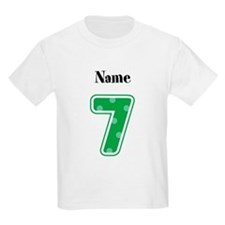 Personalized 7 Kids T-Shirt