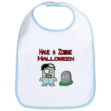 Have a Zombie Halloween Bib