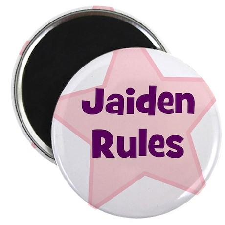 Jaiden Rules Magnet
