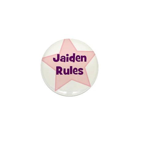 Jaiden Rules Mini Button (10 pack)