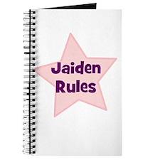 Jaiden Rules Journal