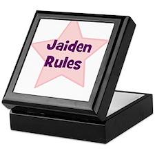 Jaiden Rules Keepsake Box