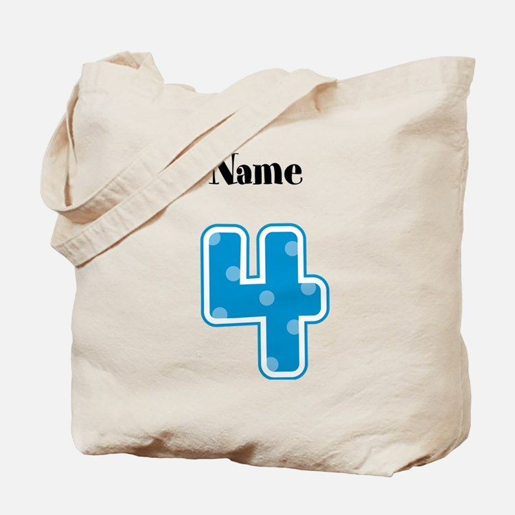 Personalized 4 Tote Bag