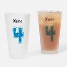 Personalized 4 Drinking Glass