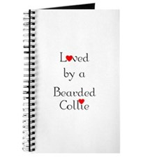 Loved by a Bearded Collie Journal