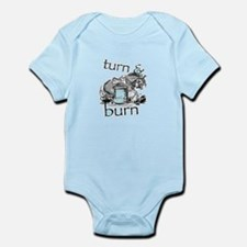 Turn and Burn Barrel Racing Body Suit