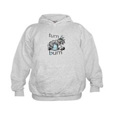 Turn and Burn Barrel Racing Hoodie