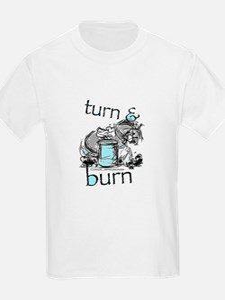 Turn and Burn Barrel Racing T-Shirt