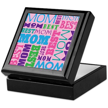 Best Mom Design Gift Keepsake Box