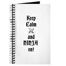 Keep Calm NINJA Journal