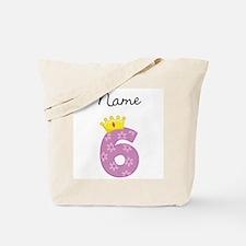 Personalized Princess 6 Tote Bag