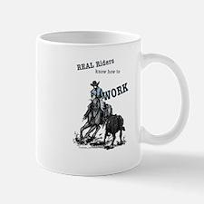 Real Western Cutting Horse Small Small Mug