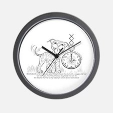 BODACIOUS- Time To Stop Bullying Wall Clock
