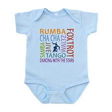 Ballroom Dancing DTWS Infant Bodysuit