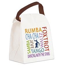 Ballroom Dancing DTWS Canvas Lunch Bag