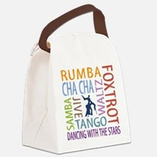 Ballroom Dancing DTWS Canvas Lunch Bag