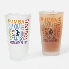 Ballroom Dancing DTWS Drinking Glass
