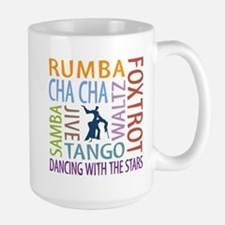 Ballroom Dancing DTWS Ceramic Mugs