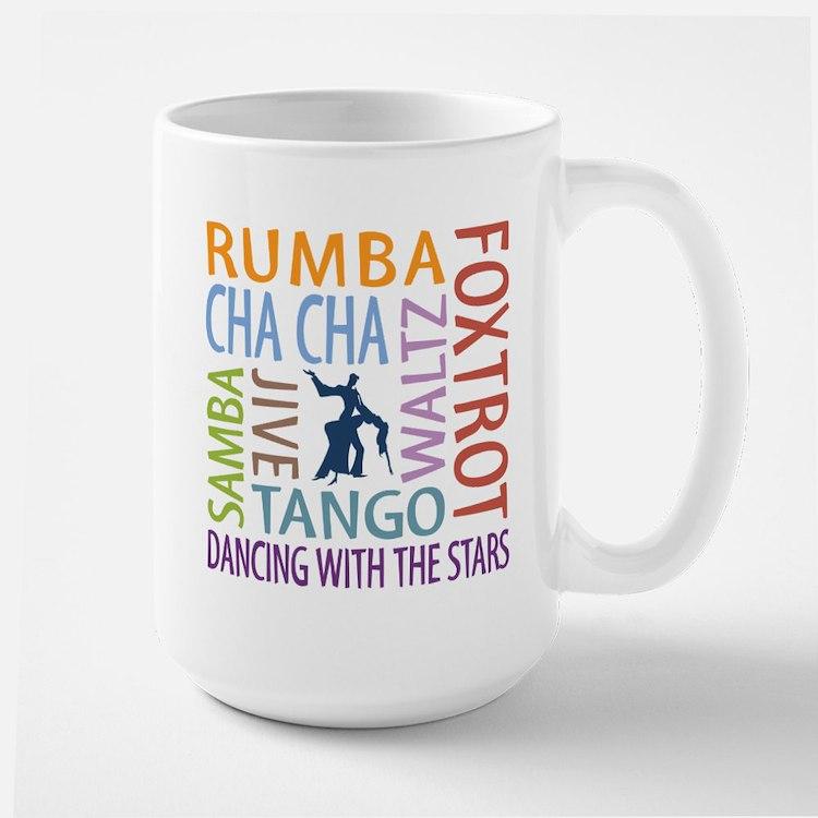 Ballroom Dancing DTWS Large Mug