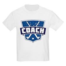Field Hockey Coach (blue) T-Shirt