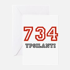 734 Greeting Cards (Pk of 10)