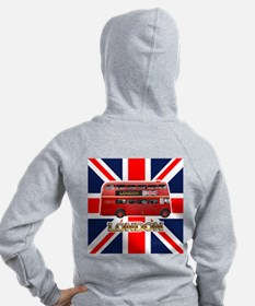 The London Bus Zip Hoodie