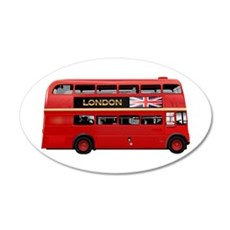 The London Bus Wall Decal